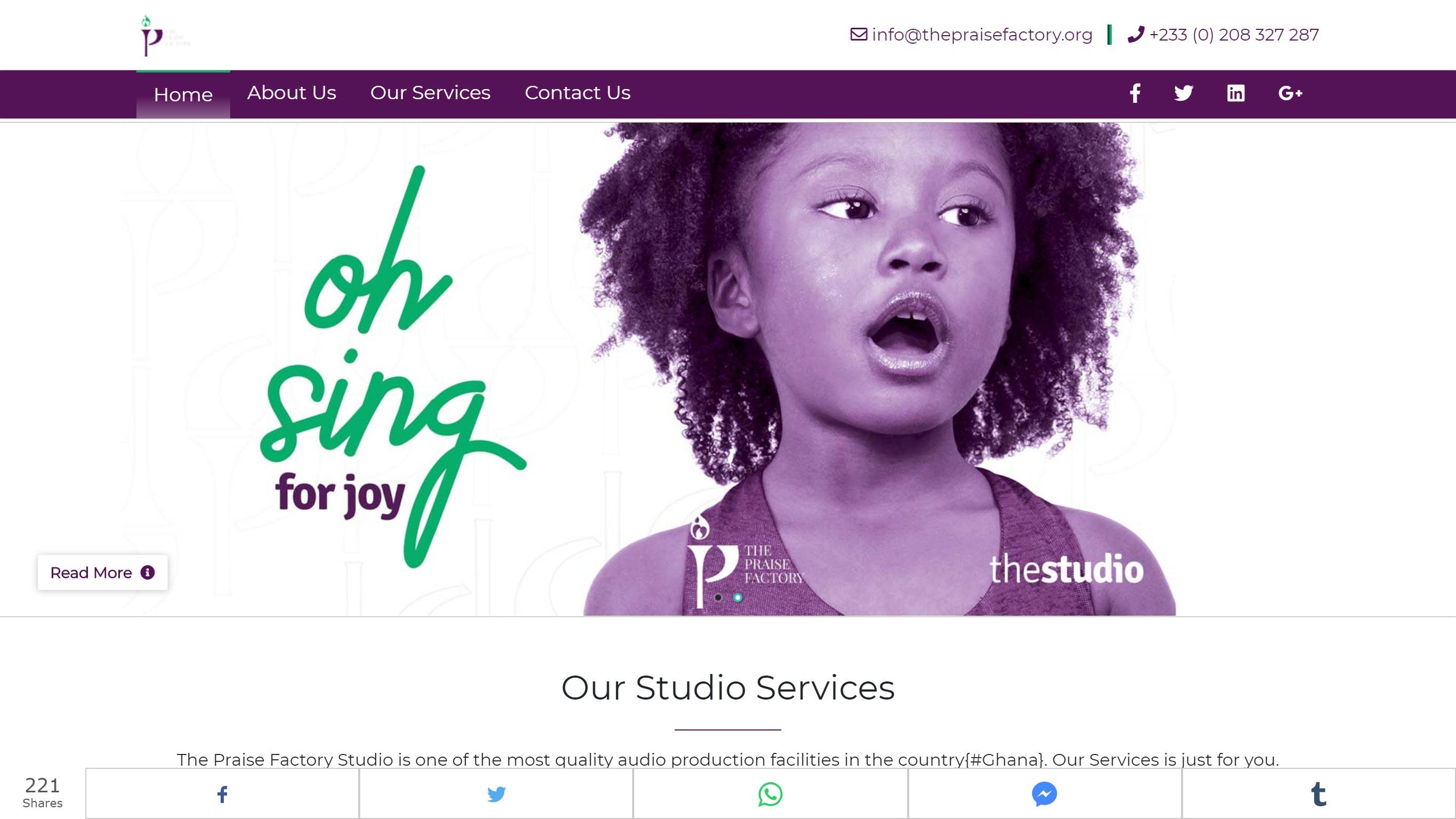 The Praise Factory Studio